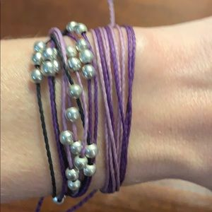 Pura Vida Jewelry - 🟣⚫️ Pura Vida Bracelet Bundle ⚫️🟣